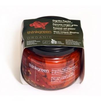 Poivrons rouges BIO à l'huile d'olive 290g