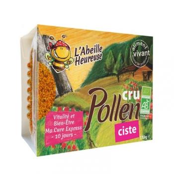 Pollen cru Ciste Bio 130g