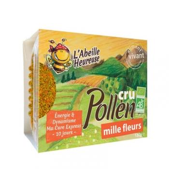 Pollen cru Mille Fleurs Bio 130g
