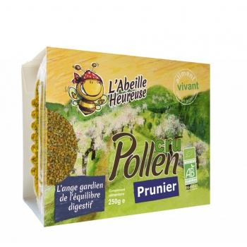 Pollen cru Prunier Bio