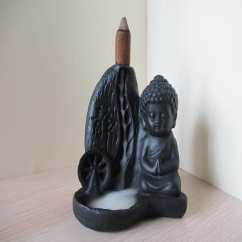 """Porte encens à reflux """"bouddha"""""""