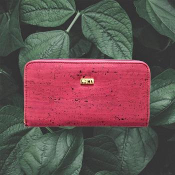 portefeuille femme en liège