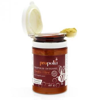 Poudre ULTRA de propolis - Propolia - Pot de 40 g