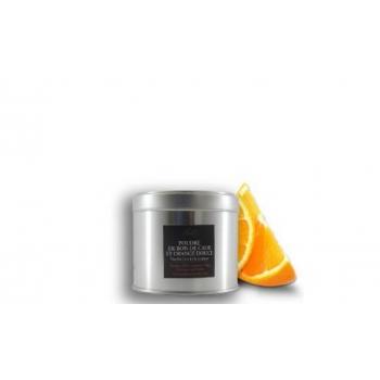 Poudre de Bois de Cade Naturelle-Parfum orange