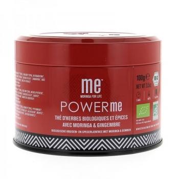 Power Me, Infusion au Moringa BIO - 100g