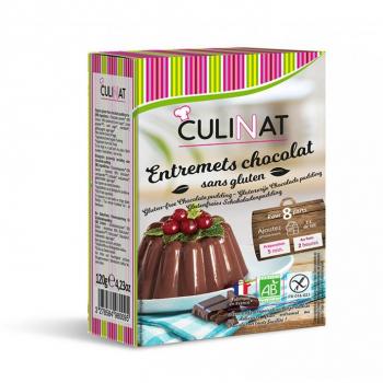 Préparation flan et entremets Chocolat Bio sans gluten Culinat