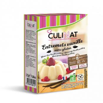 Préparation pour entremets vanille bio sans gluten culinat