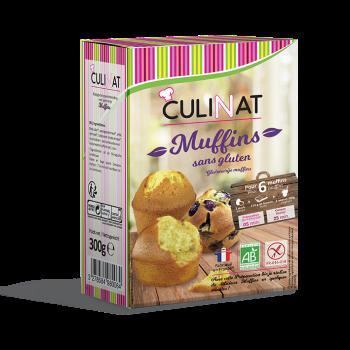 Préparation pour Muffins bio sans gluten culinat