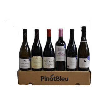 Coffret de 6 vins bio - Coffret Prestige