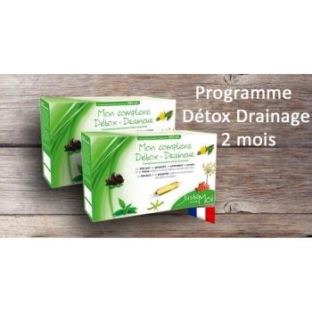 Détox & Drainage - programme 2 mois