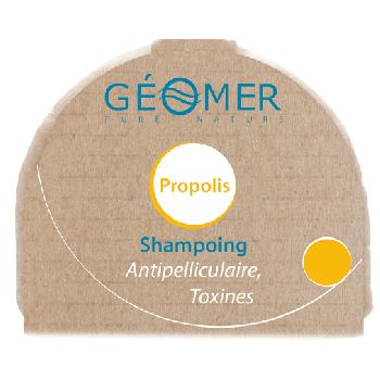 Shampoing Propolis solide - 1 bloc de shampoing  solide : 250g