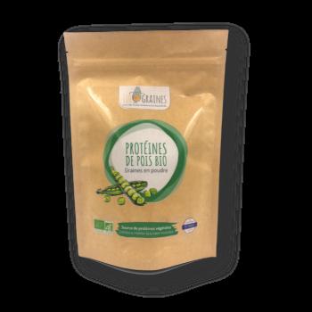 Protéines de pois packaging