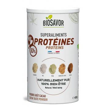 Mix de protéines Bio - Saveur Cacao - 400g