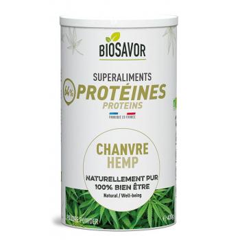 Protéine de chanvre Bio en poudre - 400g
