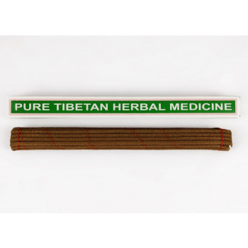 "Encens Tibétain traditionnel ""Pure Tibetan Herbal Medecine"" 24 Bâtonnets - Relaxation"