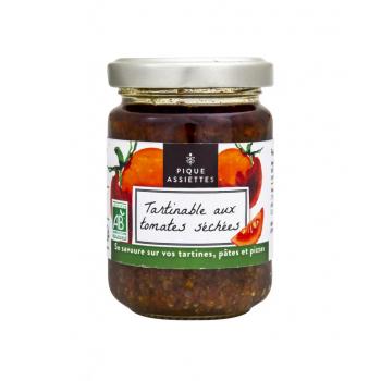 Tartinable aux Tomates séchées Bio 120g