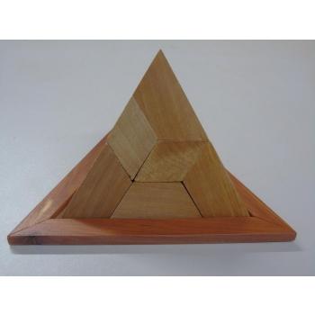 Casse-tête pyramide 5 pièces
