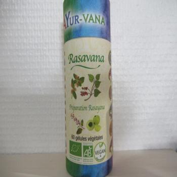 "Gélules ayuvédique ""Rasavana"""