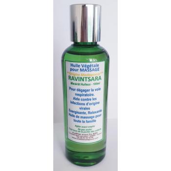 Huile végétale pour massage de RAVINTSARA