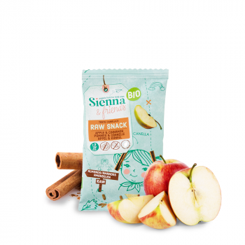 S&F BIO Snack Cru Pomme & Cannelle 20g