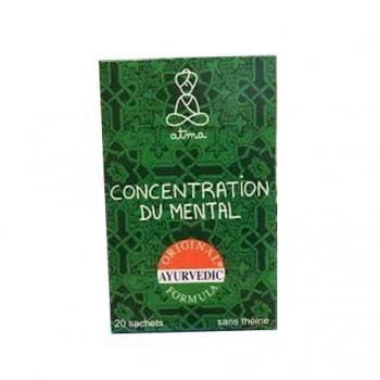 Infusion Concentration du Mental Bio - 20 Sachets - Atma