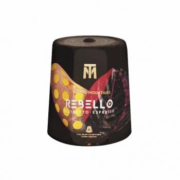 Capsules de café bio compostables REBELLO Espresso/Ristretto