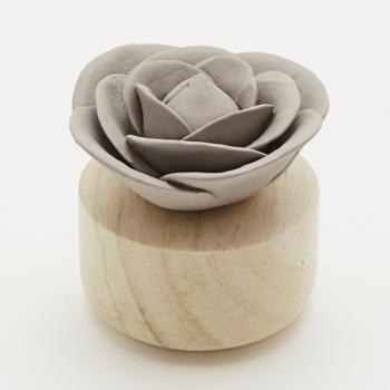 Fleur à parfumer ROSE grise