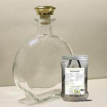 Kit de préparation rhum arrangé Bois bandé + 1 carafe en verre