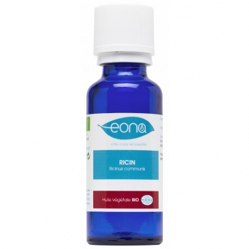 Huile végétale de Ricin Bio fortifiante - 30 ml