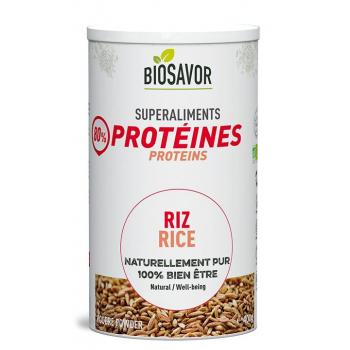 Protéine de riz en poudre Bio - 400g