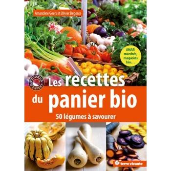 Les recettes du panier bio - 192 pages - 15 x 21