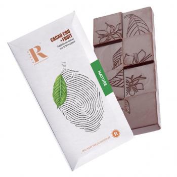 Tablette chocolat cru 75% (45g)