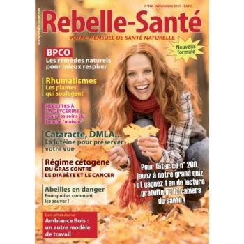 Rebelle-Santé de NOVEMBRE 2017