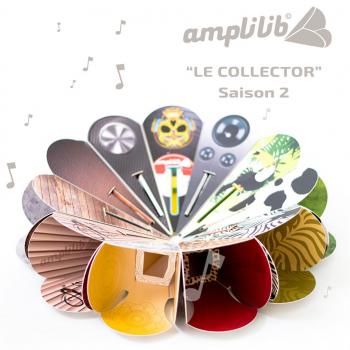 AMPLILIB l'enceinte écologique – Made in France- Pack Collector (11 Amplilib)