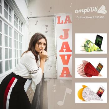 AMPLILIB l'enceinte écologique – Made in France- Pack Pour Elle (3 Amplilib)