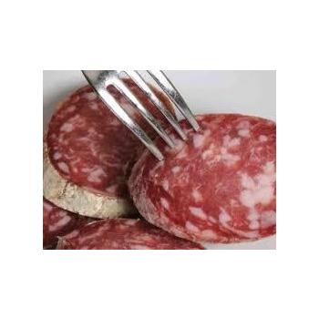 saucisson pur jambon bio.expédié directement d'Italie. 500gr.
