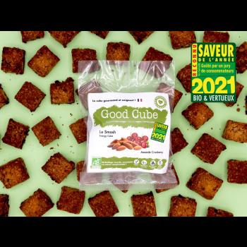 """Biscuits aux amandes et cranberries """" Le Smash"""" BIO - boost d'énergie - 35g"""