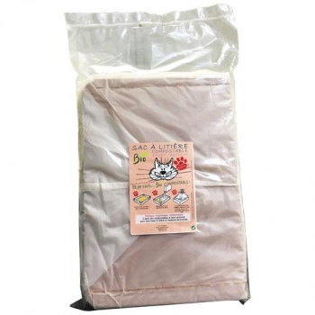 4 sacs bio compostable à fond cartonné