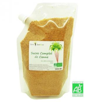 Sucre Complet de Canne Biologique non raffiné - 400 g bio - dégustation, cuisine