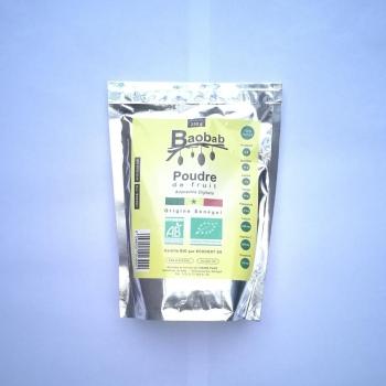 Baobab bio poudre de fruit - 250 g