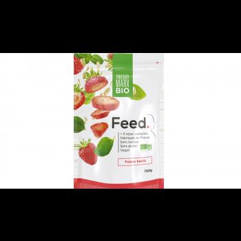FEED. Sachet 5 repas Poudre BIO Fraises - Basilic - 750g