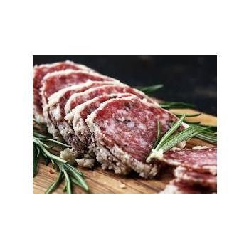 saucisson a la truffe bio. expédié directement d'Italie 500gr.