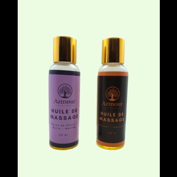 Pack 2 Huiles de Massage Relaxante & Tonifiante - 200 ml
