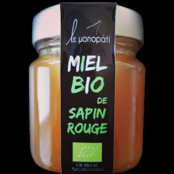 Miel Bio de Sapin Rouge Le Monopati 4 Pièces