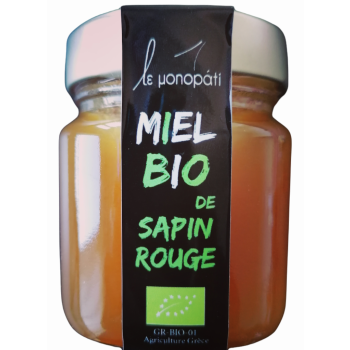 Miel Bio de Sapin Rouge Le Monopati