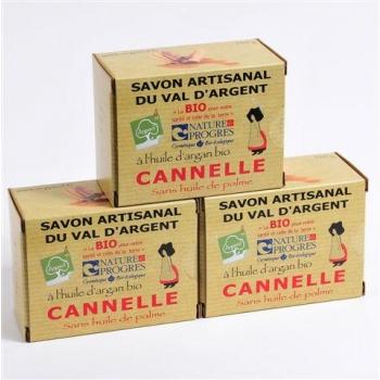 3 Savons À La Cannelle 140G
