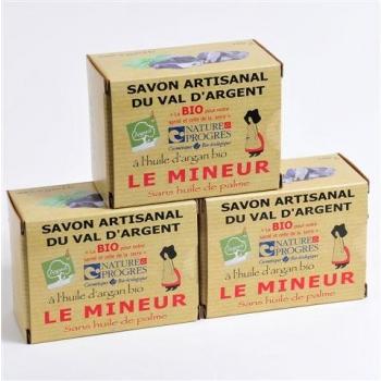 3 Savons  Du Mineur 140G