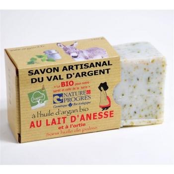 Savon Au Lait D'ânesse Et À L'ortie 140G