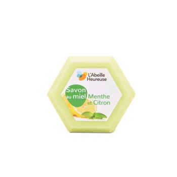 Savon au Miel, Menthe et Citron 100g