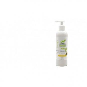 Savon liquide lait d'ânesse bio peau sèche 3 beurres  250ml
